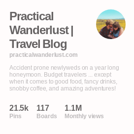 Exposure at work: see that 1.1? That's 1.1 MILLION, the number of monthly views our profile & our content is currently getting monthly on Pinterest. Does that translate into traffic growth for my blog? You bet it does!