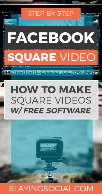 Super easy tutorial showing you how to make a square video with Adobe Premiere Pro, iMovie + Keynote and Movie Maker + Powerpoint.