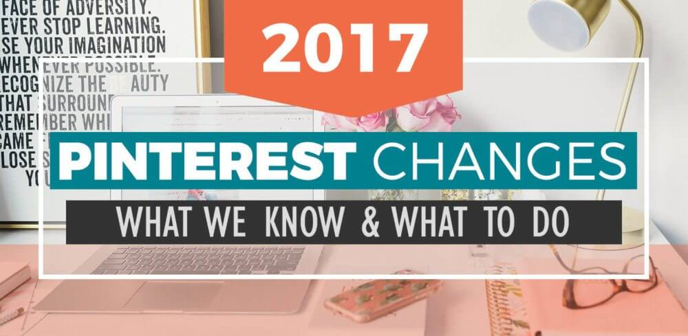 The 2017 Pinterest Changes threw us all off. No more re-pins? Hashtags? Tailwind tribes that cost money? What the heck?! We'll help you figure it out.
