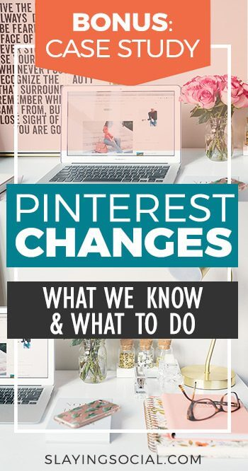 The 2017 Pinterest Changes threw us all off. No more re-pins? Hashtags? Tailwind tribes that cost money? What the heck?! We'll help you figure it out. #SocialMedia #Business #Pinterest