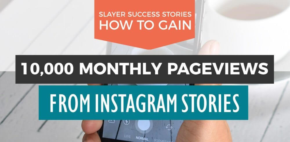 Use Instagram Stories to generate THOUSANDS of views each month for your blog! This case study shows you how one blogger is doing it. #socialmedia #marketing #instagram