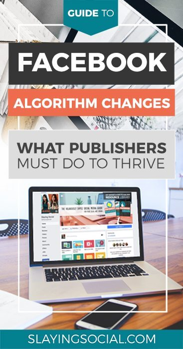 Here's how to defeat the Facebook algorithm in 2018! A list of actionable items publishers can take advantage of NOW to avoid getting left behind. #Facebook #Marketing #SocialMedia