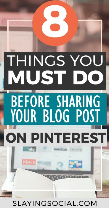 Struggling to make your Pins go VIRAL and drive traffic to your blog? Here's how to use Pinterest to its full potential with 8 things you MUST do before posting your content on Pinterest. Pinterest Tips | Social Media Tips | Social Media Marketing | Social Media Strategy | Blogging Tips | Entrepreneurship #BloggingTips #SocialMediaTips