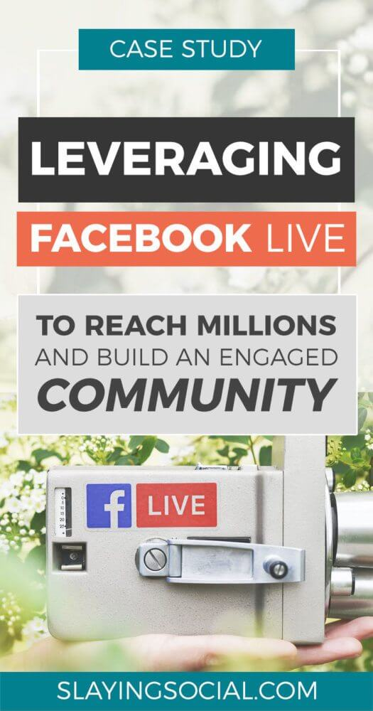 A guide on how to use Facebook Live to grow your blog, brand and business! #Facebook #SocialMedia #marketing