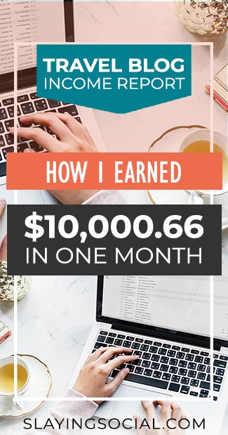 How did my travel blog earn me $10,000 in May? How much did I spend? Find out in my travel blog income report for May 2018!