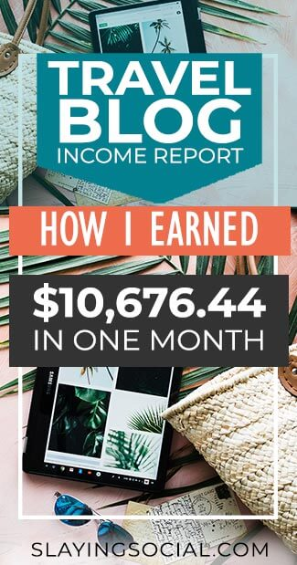 How did my travel blog earn me almost $10,700 in June? How much did I spend? Find out in my travel blog income report for June 2018! #blogging #travelblog