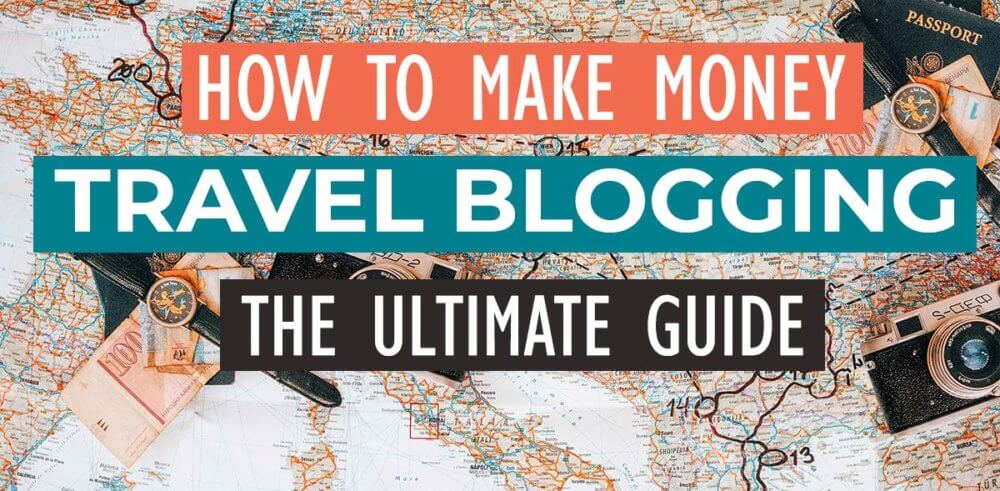 The massive, giant, ultimate guide to monetizing your travel blog covers revenue streams like affiliate marketing, ad revenue, product creation, content licensing, sponsorships and more!