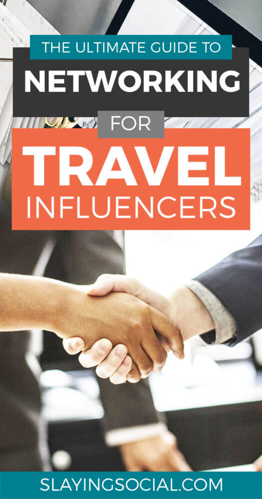 How can travel bloggers leverage networking to score partnerships and grow their business? This guide spills the beans, even if you're not a natural networker. #bloggingtips