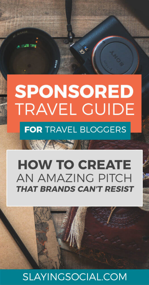 How do travel bloggers score sponsored travel? This in-depth guide walks you through the pitching process and shows you how to pitch like a professional for brand partnerships. #bloggingtips