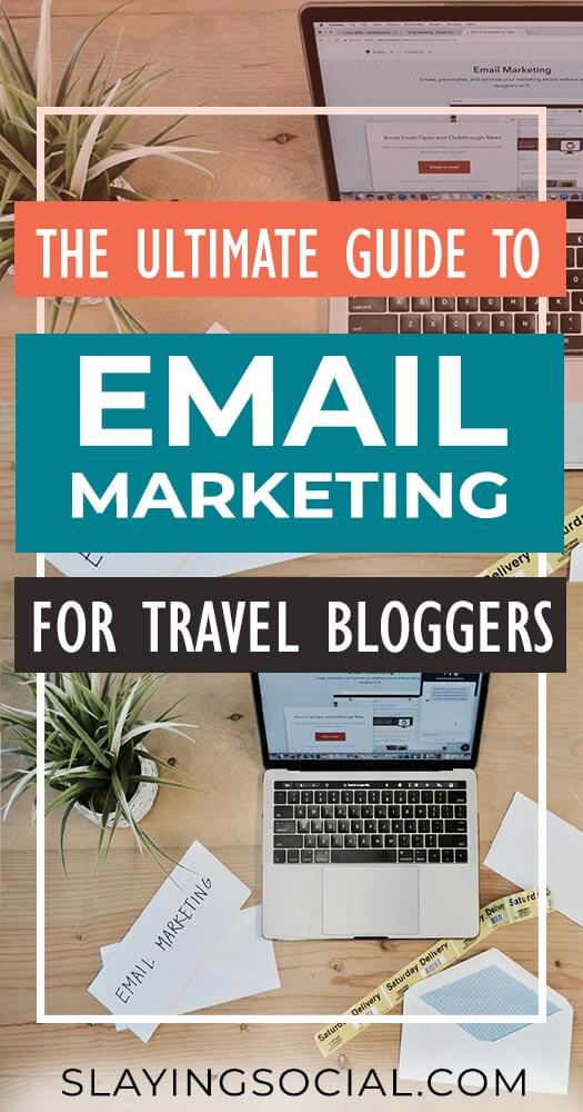 Email marketing strategy can be confusing - let us help! In this ultimate guide to email marketing for travel bloggers we're breaking down everything you need to know, from opt-ins to newsletters to sequences and more. #emailmarketing #blogtips #bloggingtips